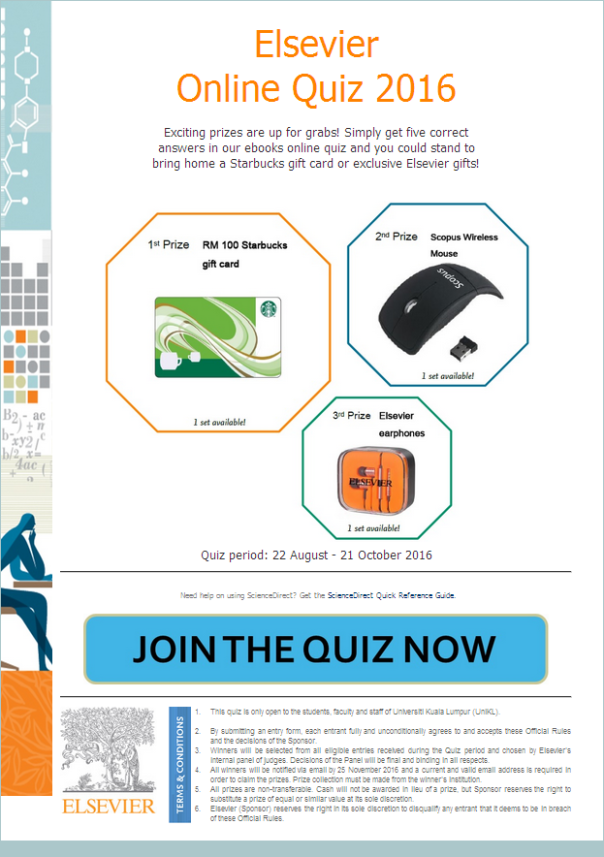 Elsevier Quiz